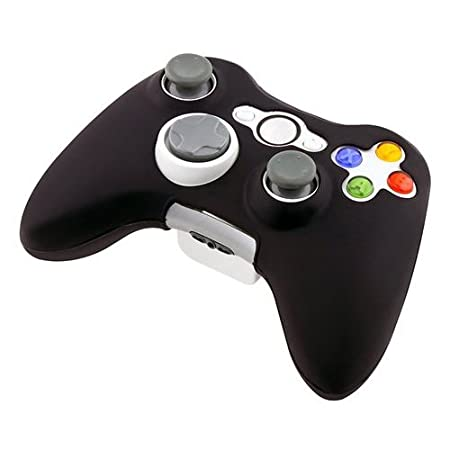HDE® Black Silicone Skin for Xbox 360 Game Controller