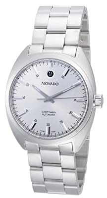 "Movado Men's 0606360 ""Datron"" Stainless-Steel Watch"