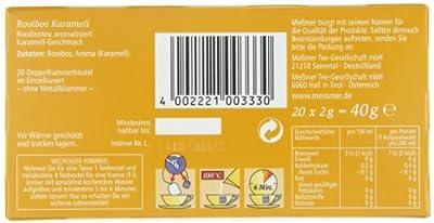 Meßmer Rooibos Karamell 20 TB, 5er Pack (5 x 40 g) von Meßmer auf Gewürze Shop