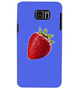 SAMSUNG GALAXY NOTE 5 STRAWBERRY Back Cover by PRINTSWAG