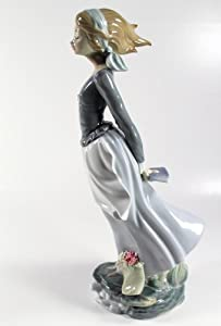 Lladro sea breeze collectible figurine 01004922 retired glazed finish - Consider including lladro porcelain figurines home decoration ...