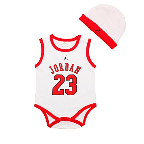Depo Fashion Style Baby Clothing Shirt Jordan Baby Rompers Jump Suit (7M-9M)