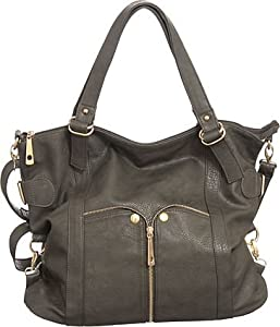Large ''Waverly'' Cross-body Convertible Tote