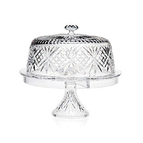 Godinger Dublin 4 In 1 Cake Dome (Godinger Crystal Cake Plate compare prices)
