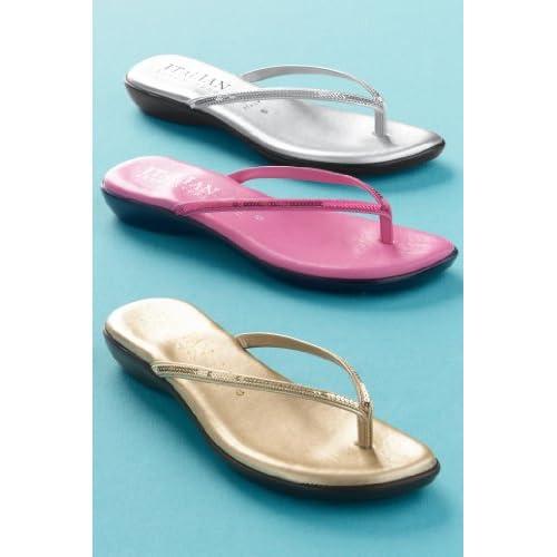 Amazon.com: Chadwicks Italian Shoemakers Toe-Thong Sandals