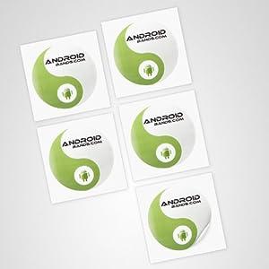 NFC Tags 5 Sticker | NFC Aufkleber Tag | Topaz 512 NFC Chip | Für alle NFC Smartphones