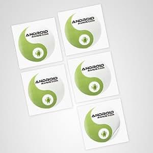 NFC Tags 5 Sticker | NFC Aufkleber Tag | Für alle NFC Smartphones