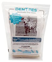 Dermapet Dentees Chewis a all natural, multifunctional treat that is good for your pets teeth and breath.