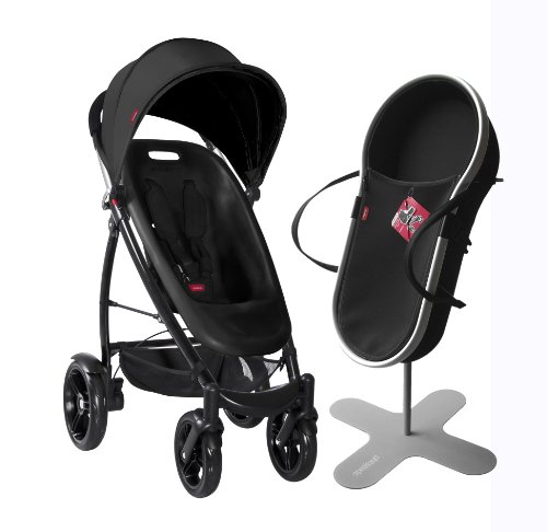 phil&teds Smart 2013 Bassinet and Stroller Bundle, Black