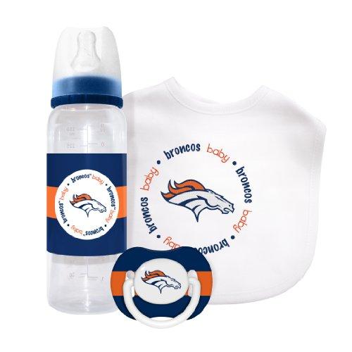 Nfl Denver Broncos Baby Gift Set