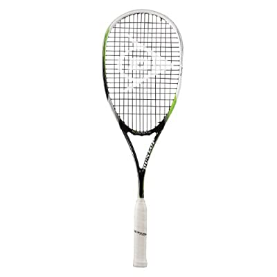 Dunlop Biometric Elite Squash Racquet, Senior (Green/Black)