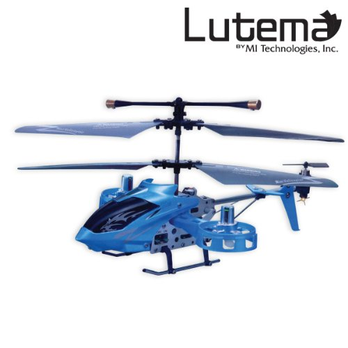 Lutema Avatar Hovercraft 4CH Remote Control Helicopter - RC Blue (MIT4CAVHB)
