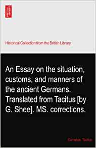 Essay on tacitus