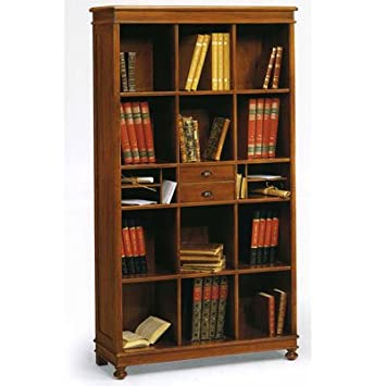 Libreria noce tanganica cm 100x36, h 180