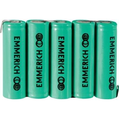 Pack NiMH Emmerich R6 1 500 mAh 6 V FT-1Z