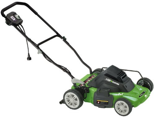 Earthwise 50214 14-Inch 8 Amp Side Discharge/Mulching Electric Lawn Mower