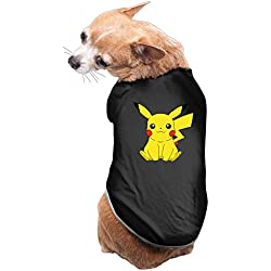 Cute Pikachu Cool Dog Costume Large