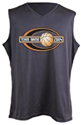 Anaconda Sports® WDFSL-V CoolPlus® Women's Cut Sleeveless V-Neck Basketball Shirt (call 1-800-234-2775 to order)