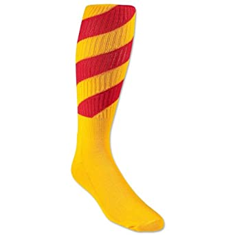 Buy Red Lion Tornado Socks (Yellow Red) by Red Lion