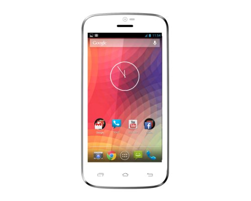 DJC Touchtalk Lite Smart Phone – Google Android 4.2 – Dual Core Processor 1.3GHz – 4″ Touchscreen Display – Dual SIM – 3G/WIFI/Bluetooth Connectivity – GPS White
