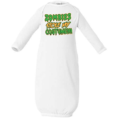 Inktastic Baby Boys' Zombies Stole My Costume!!! Baby Layette Sleepers