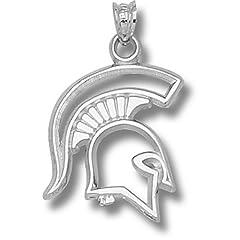 Michigan State University Spartan - 14K Gold by Logo Art
