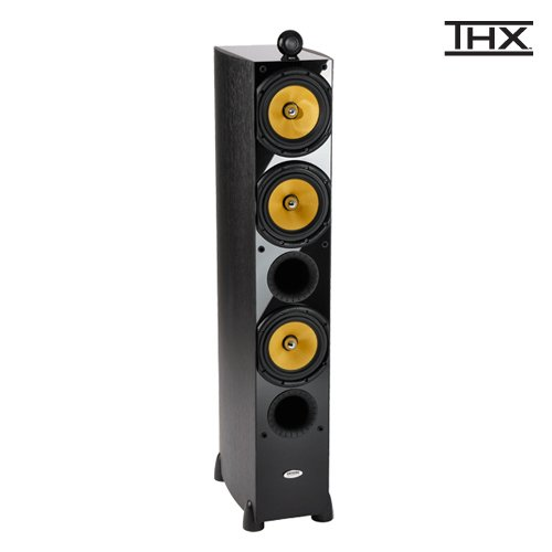 Crystal Acoustics Thx® Ultra2 Certified Special Edition Tx-T3 Stereo Reference Awarded Pair Of Speakers. Now With More Bass -Black Gloss/Ash Black