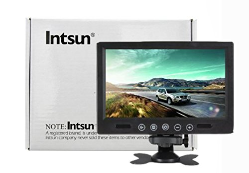 Intsun® 9 Inch 800 X 600 Pixels High Resolution Pillow Tft Lcd Color Screen Car Rearview Mirror Monitor