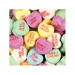 Baby Talk Conversation Hearts Candy