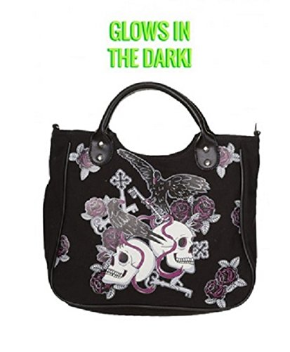 Banned Bag with Skulls and Crows (Borsa con Teschi e Corvi)