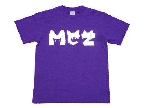 MCZネコ耳Tシャツ 紫 (M)