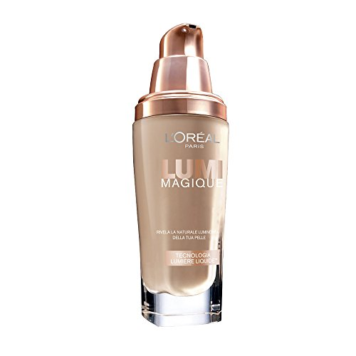 L'Oréal Make Up Designer Paris Lumi Magique Fondotinta Liquido 4N Pure Beige