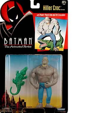 Batman The Animated Series Killer Croc Figure - 1