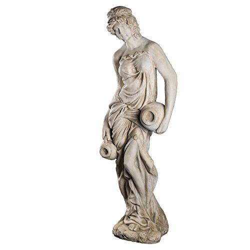 Riesiege antike Wassertägerin - Griechische Skulpturen
