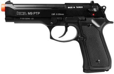 KWA M9 Tactical PTP Metal Gas Pistol airsoft