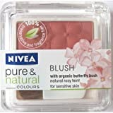 Nivea Powder Pure and Natural Colours with organic green tea, for sensitive skin. Desert Rose 07,7g.