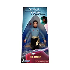 Star Trek Mirror Mirror Dr. Mccoy Kaybee Exclusive Figure 9 Inch Limited to 7,200