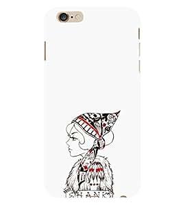 EPICCASE Modern girl Mobile Back Case Cover For Apple iPhone 6 Plus (Designer Case)