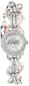 Game Time Ladies NBA-CHM-LAL Charm NBA Series Los Angeles Lakers 3-Hand Analog Watch by Game Time