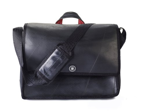 Bentley Luxe Messenger Bag Made in the USA Eco-Friendly Recycled