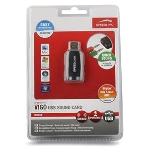 41nRqutb5XL. AA300  [meinpaket.de] Speedlink Vigo SL 8850 SBK USB Soundkarte für 8,99€ & Hantelstange Curl Set 23,5kg ab 24,95€