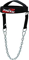 RDX Adjustable Head Harness Neck Training Exercise Weight Lifting Strength Chain