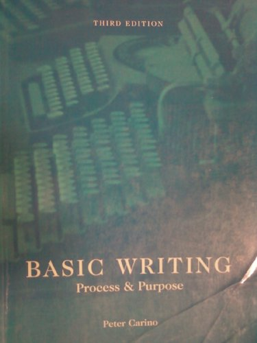 Basic Writing: Process & Purpose