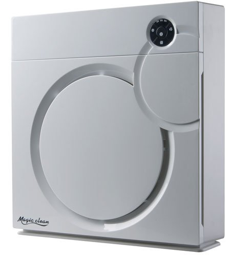 Sunpentown Home Living Room Appliance Hepa Air Purifier With Ion Flow Technology In White 1222-Ac-7014w 1222-AC-7014W