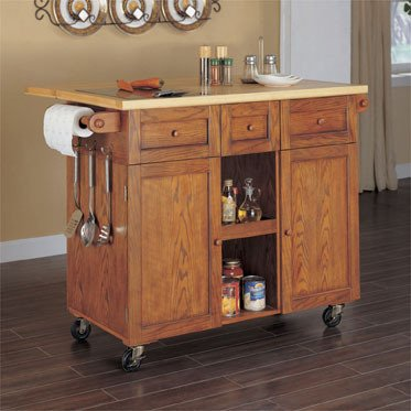 Cheap Wooden Multi Functional Kitchen Island (534-477)