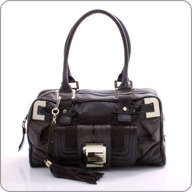 Guess Handtasche Leona Box Bag braun GU10W204 Schuhe on