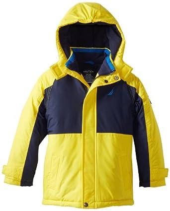 Nautica Little Boys' PCD Snorkle Jacket, Dayglow, Small