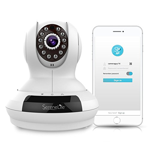 Best Buy! SereneLife HD Wireless Camera  Security IP Camera for Wireless Video Surveillance - 1 Acco...