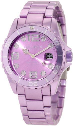 Haurex Italy Women's 7K374DLL Ink Lilac Aluminum Watch