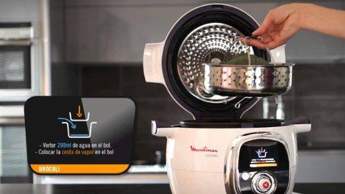 Moulinex Cookeo   Robot De Cocina, Capacidad Para 6 Comensales, Software  Con.